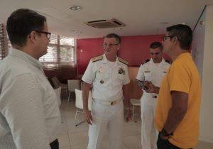 No AP, almirante diz que missão da Marinha também é auxiliar os povos da Amazônia