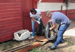 Ação recolhe meia tonelada de resíduos da APA do Curiaú