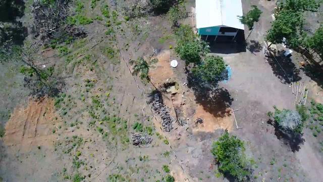 Polícia encontra 19 hectares de desmatamento; homem é preso