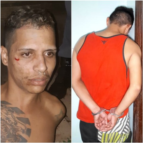 Dupla em moto executa homem e é presa após perseguição