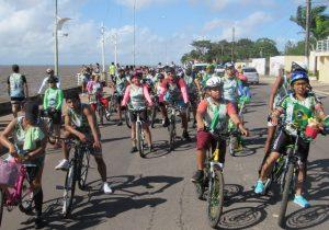 """Passeio ciclístico encerra """"Junho Verde"""" no Amapá"""