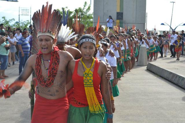 Índios de 40 etnias participam de encontro em Macapá