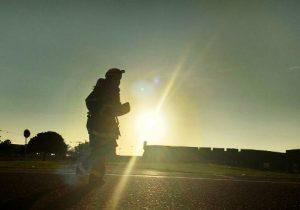 Corrida do Fogo: bombeiros correrão com 30kg a mais que outros competidores