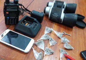Foragido é preso com rádio ligado na frequência da PM