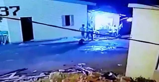 VÍDEO mostra momento em que enteado mata o padrasto
