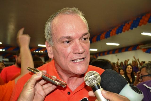 """""""Hora de devolver tudo que o AP me deu"""", diz Jaime Nunes em lançamento de pré-candidatura"""