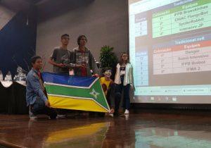 Alunos de escola pública do AP vencem torneio internacional de robótica