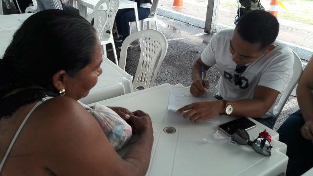 Justiça leva atendimento gratuito para aniversário do São José