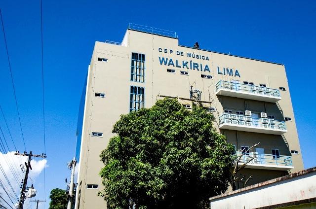 Programação de inauguração de novo prédio do Walkíria Lima oferta oficinas