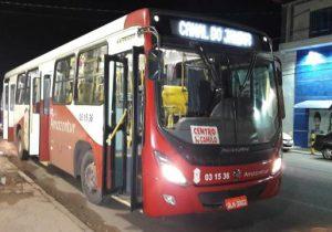 Casal é preso após assaltar ônibus com mais de 20 passageiros