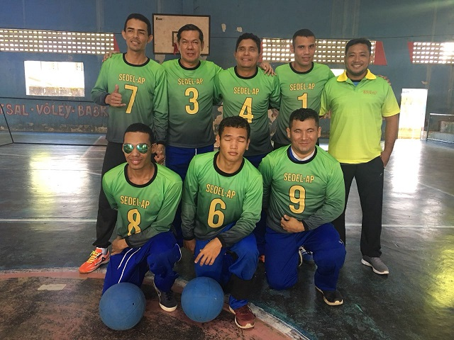 Paratletas do Amapá disputam regional de goalball, no Matogrosso