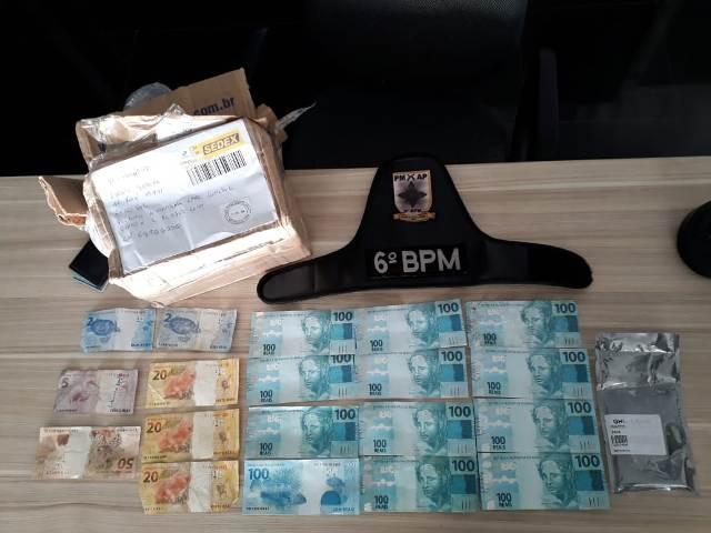 Jovem é preso com mais de R$ 1 mil em notas falsas