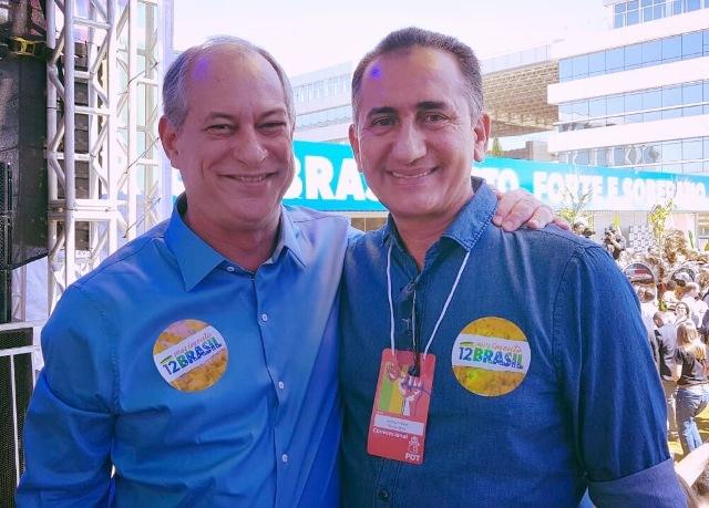 Em convenção, Waldez confirma apoio a Ciro Gomes para presidente