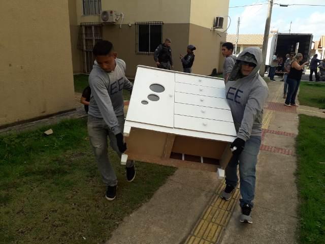 Mais de 300 apartamentos invadidos são desocupados no Macapaba II
