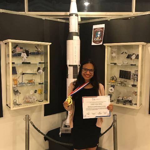 Estudante do AP recebe prêmio científico no Chile