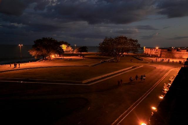 Parque do Forte e Fortaleza são revitalizados