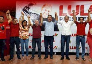 Lançamento da pré-candidatura de Lula no AP une PDT, PTB e PSB