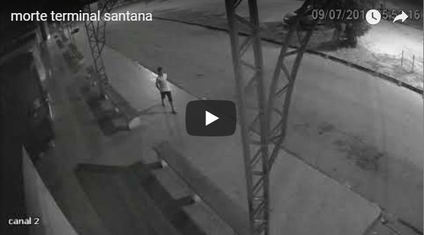 VÍDEOS mostram assassinato no terminal rodoviário de Santana