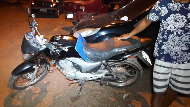 Bope recupera moto roubada por quadrilha especializada