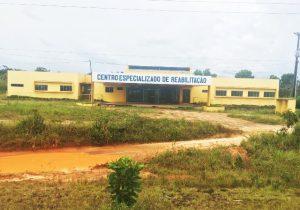Centro de reabilitação construído há quase 2 anos está abandonado, diz MP