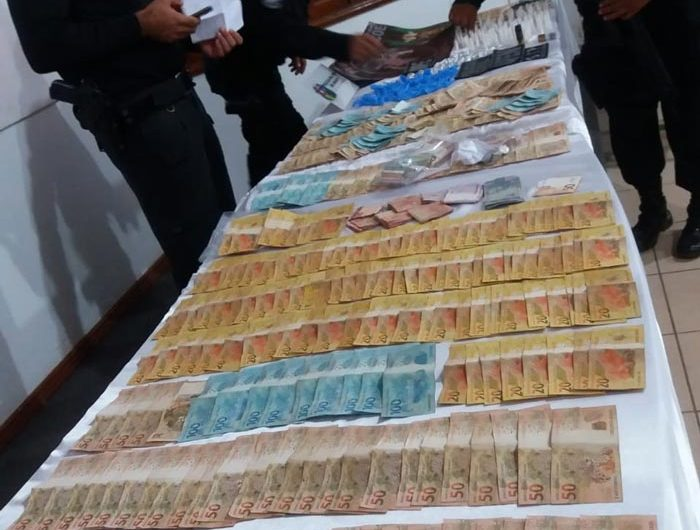 """""""Esforço integrado"""" apreende dinheiro e drogas na fronteira"""