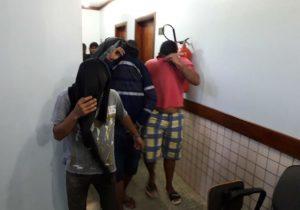 Cinco são presos em operação contra crimes diversos