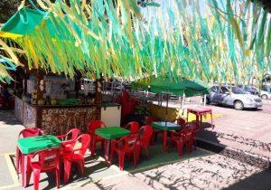 Na expectativa, comerciantes preparam Orla para Brasil x Bélgica