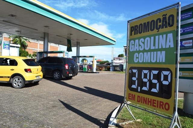 Concorrência faz preço da gasolina cair no AP, diz sindicato