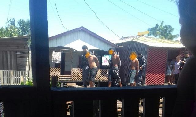 Trio suspeito de assaltos a ônibus e tráfico é localizado