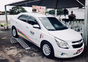 Novo padrão de táxi legalizado em Macapá é apresentado