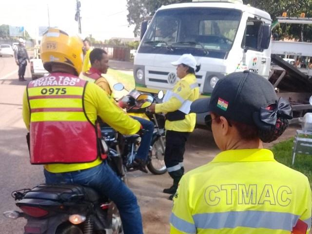 Companhia de Trânsito intensifica cerco a mototaxistas irregulares
