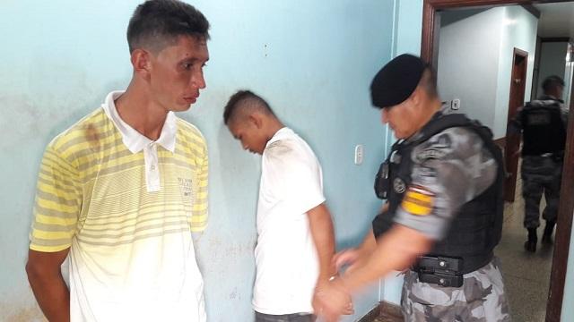 Assaltantes em fuga são presos pelo Bope