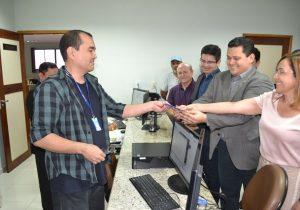 Davi registra candidatura ao governo do Amapá