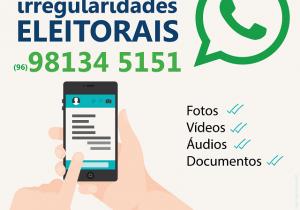Crimes eleitorais podem ser denunciados pelo WhatsApp
