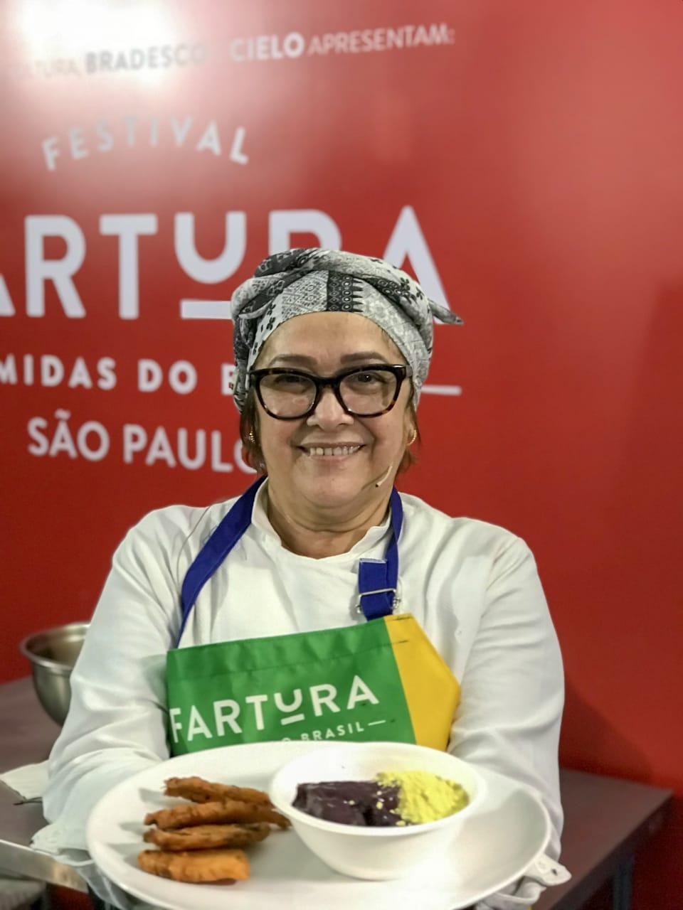 Com peixe frito e açaí, chef representa o Amapá em festival de gastronomia