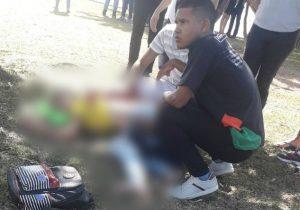 Estudante é esfaqueada por bandidos enquanto lia no Parque do Forte