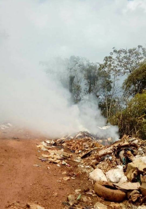 Lixeira: fumaça tóxica afeta Oiapoque e Saint-Georges