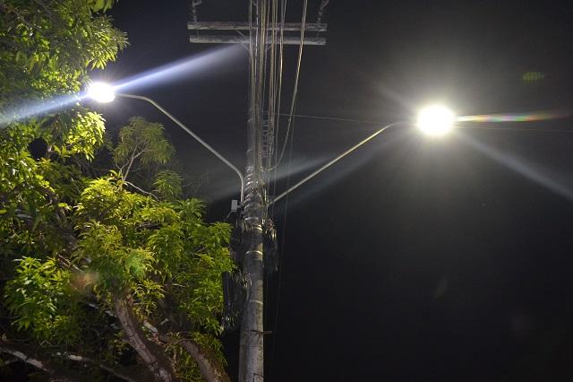 Lâmpadas de LED são testadas em Macapá