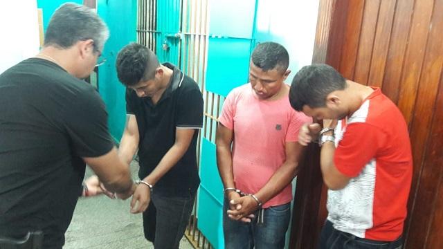 Ratos d'água são presos pela polícia paraense em Macapá