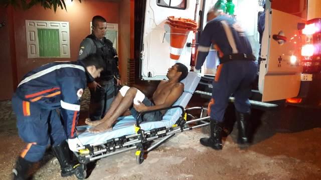 Traficantes que cobravam pedágio atiram contra a PM e acabam baleados