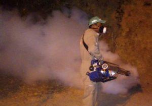 Prefeitura faz borrifação para controlar malária no Marabaixo