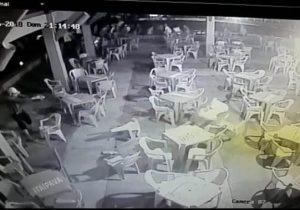 VÍDEO mostra execução em quiosque da Beira Rio