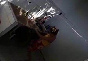 VÍDEO mostra tia-avó espancando menina de 3 anos