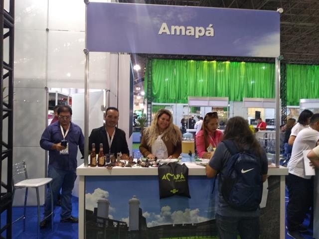Amapá apresenta roteiros turísticos em exposição internacional, em SP