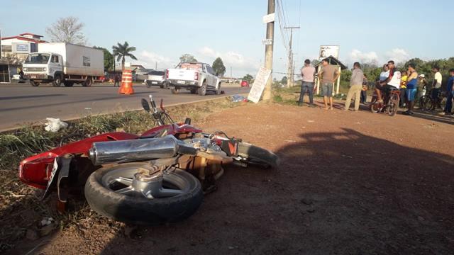 Motoqueiro não habilitado morre em acidente na Duca Serra