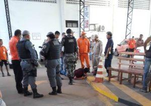 Bandidos atiram em segurança e levam R$ 80 mil de supermercado; ASSISTA