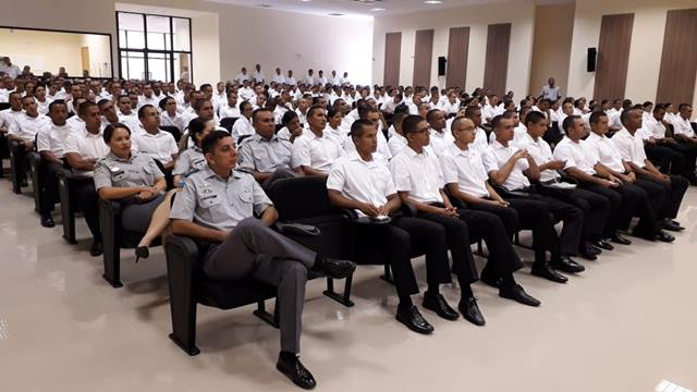 PMs em formação são treinados contra crimes eleitorais
