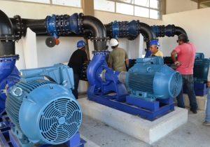 Água tratada chega a novos bairros com inauguração de centro de reservação