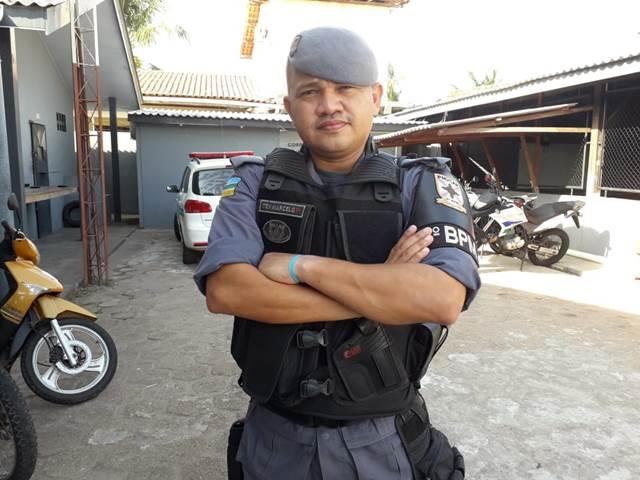 Quem é o oficial da PM que poderá substituir Kaká Barbosa