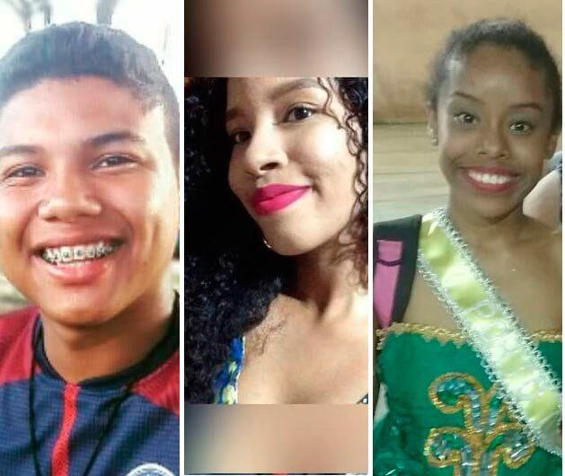 Três adolescentes morrem carbonizados em acidente de trânsito